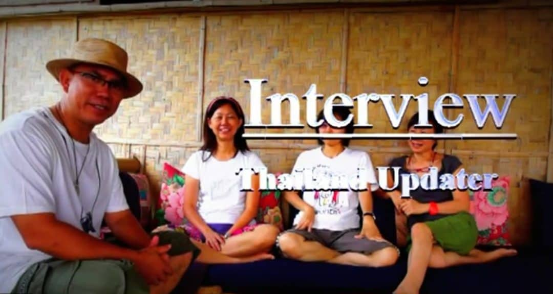 Thailand Update TV interviews